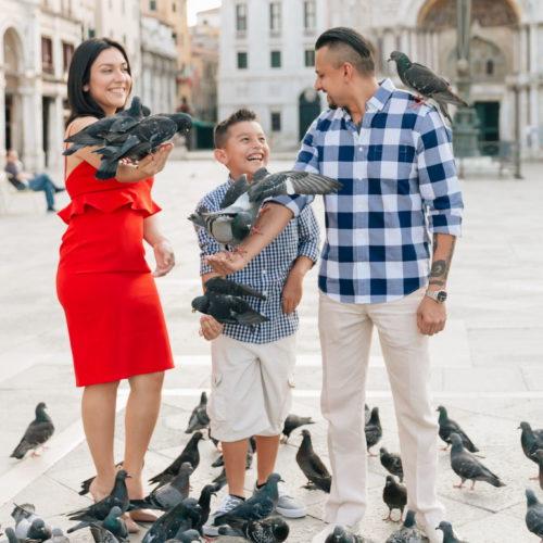 famyly shoot in venice, семейная съемка в венеции