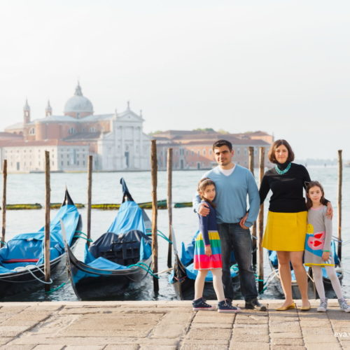 family photo shoot session in Venice