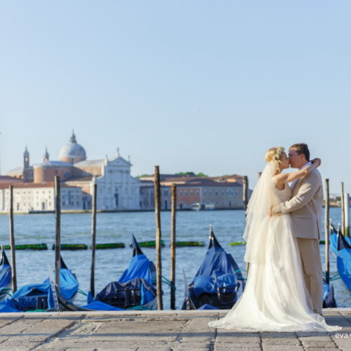 wedding photo in venice