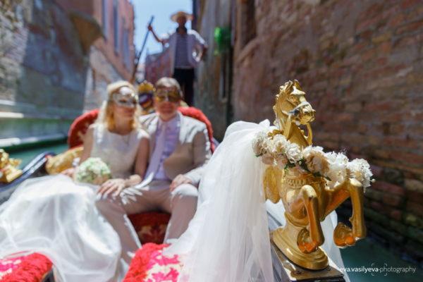 wedding photo in venice