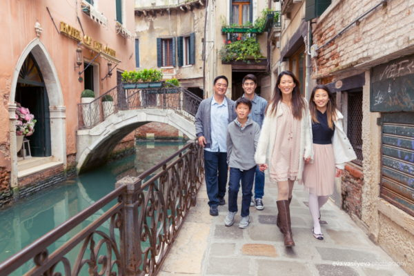 family shoot in venice