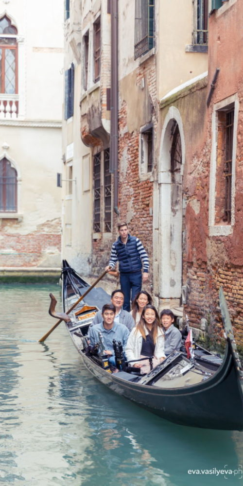 family shoot in venice
