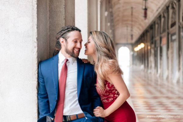 Engagement shoot in Venice