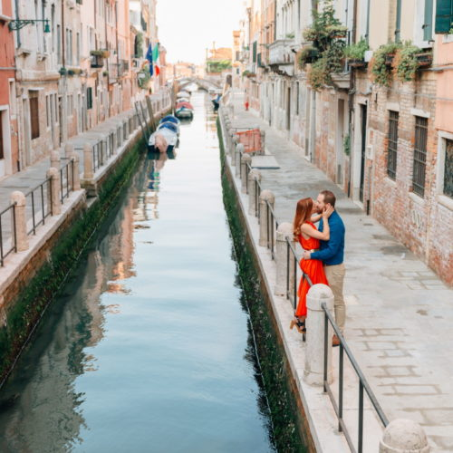 Surprise Proposal in Venice
