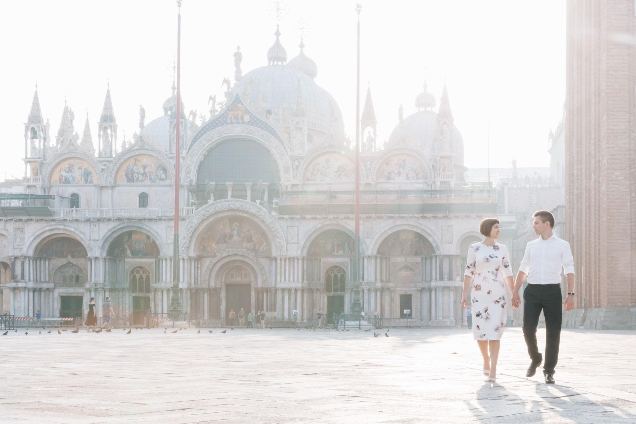 Elopement photo shoot in Venice