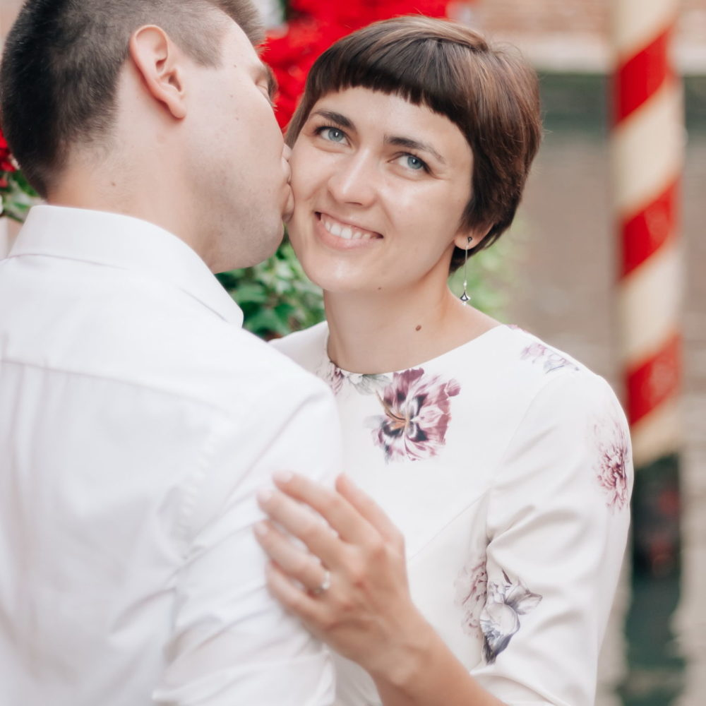 Elopement photo shoot in Venice