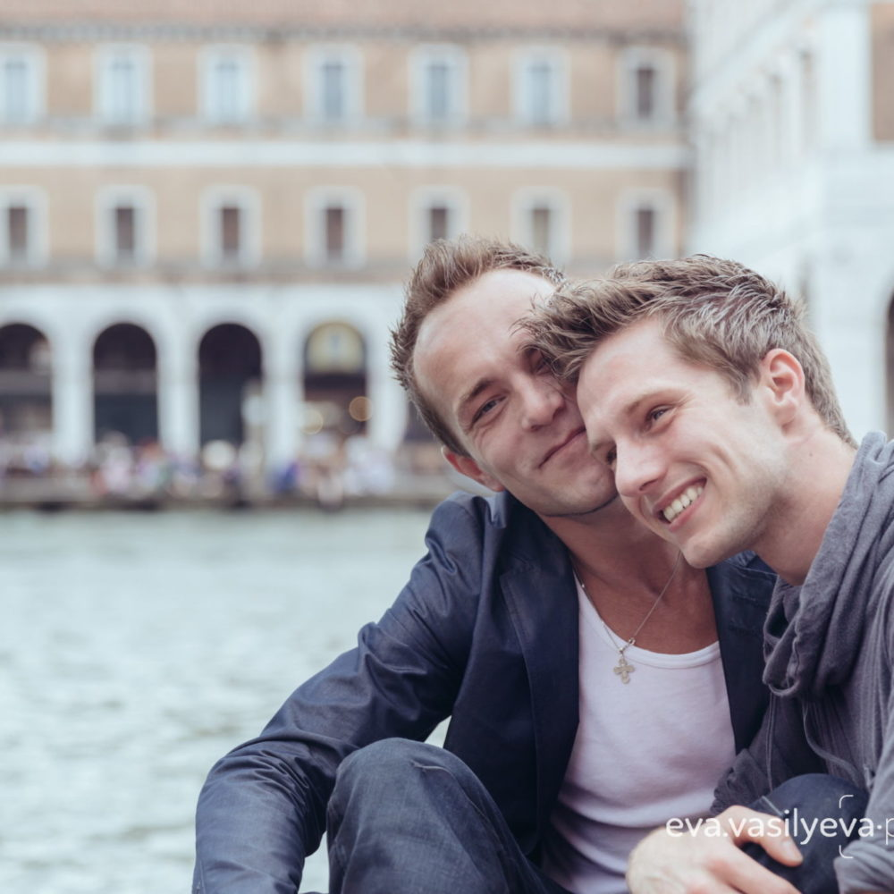 LGBT marriage propasal Venice