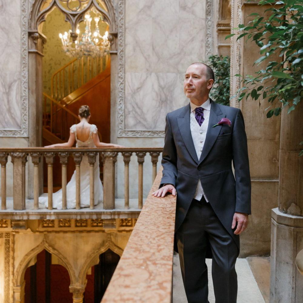 wedding photographer in venice hotel danieli