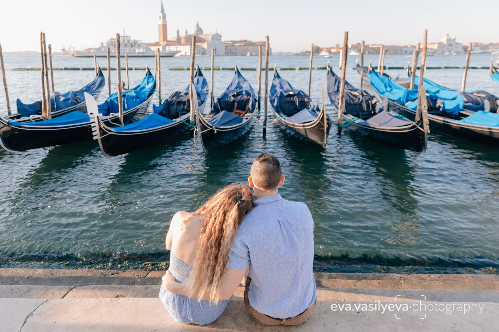 love story shooting in venice