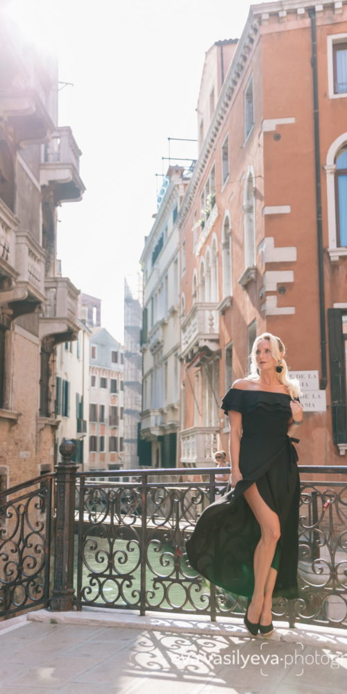 personal travel photo session in venice