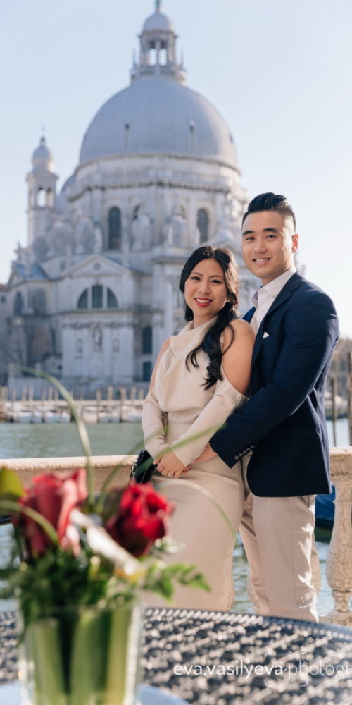 surprise proposal photographer in venice