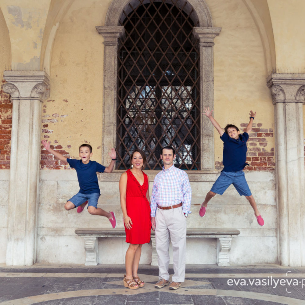 family vacation photographer in venice