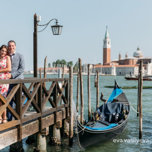 vacation photographer in venice