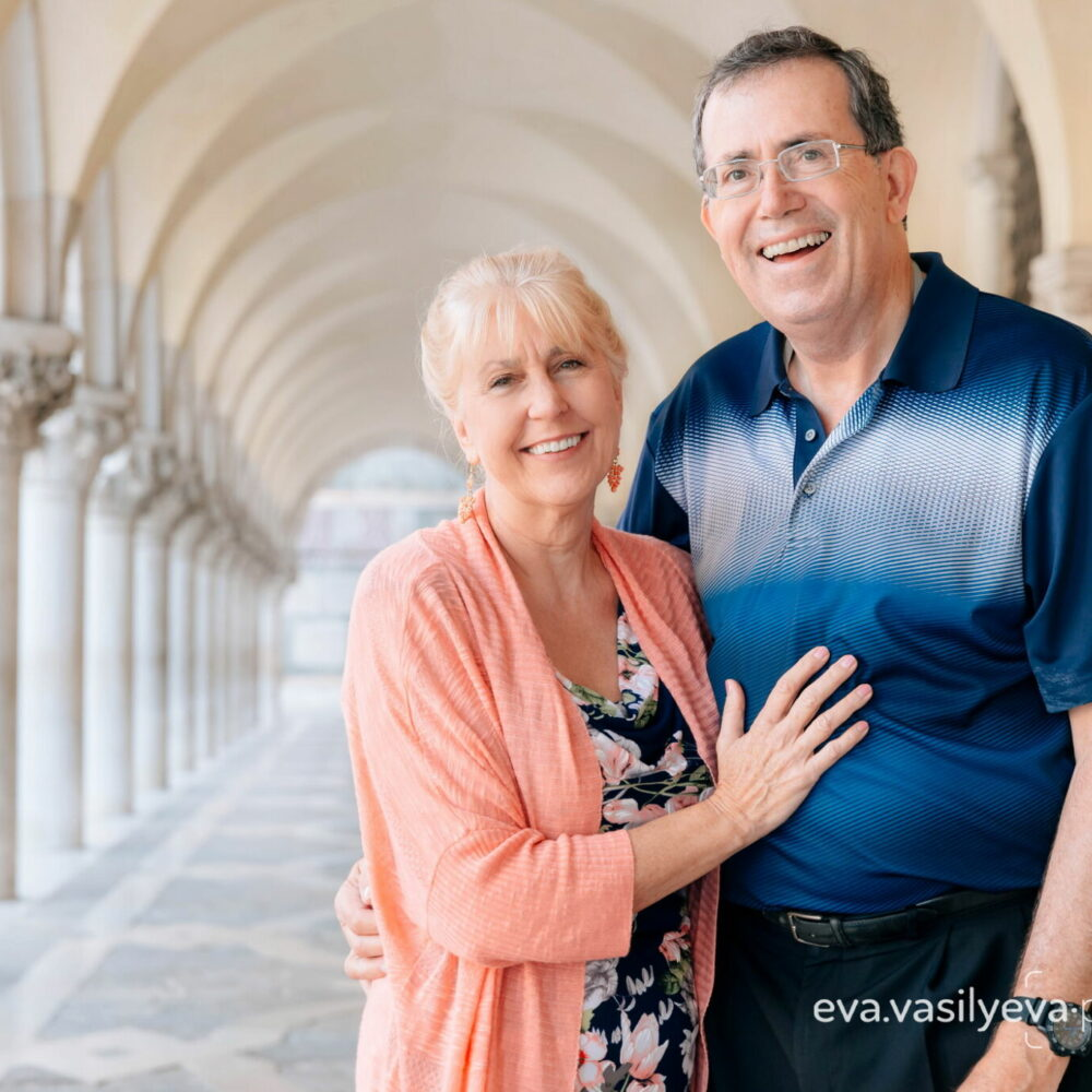 senior couple photoshoot in venice