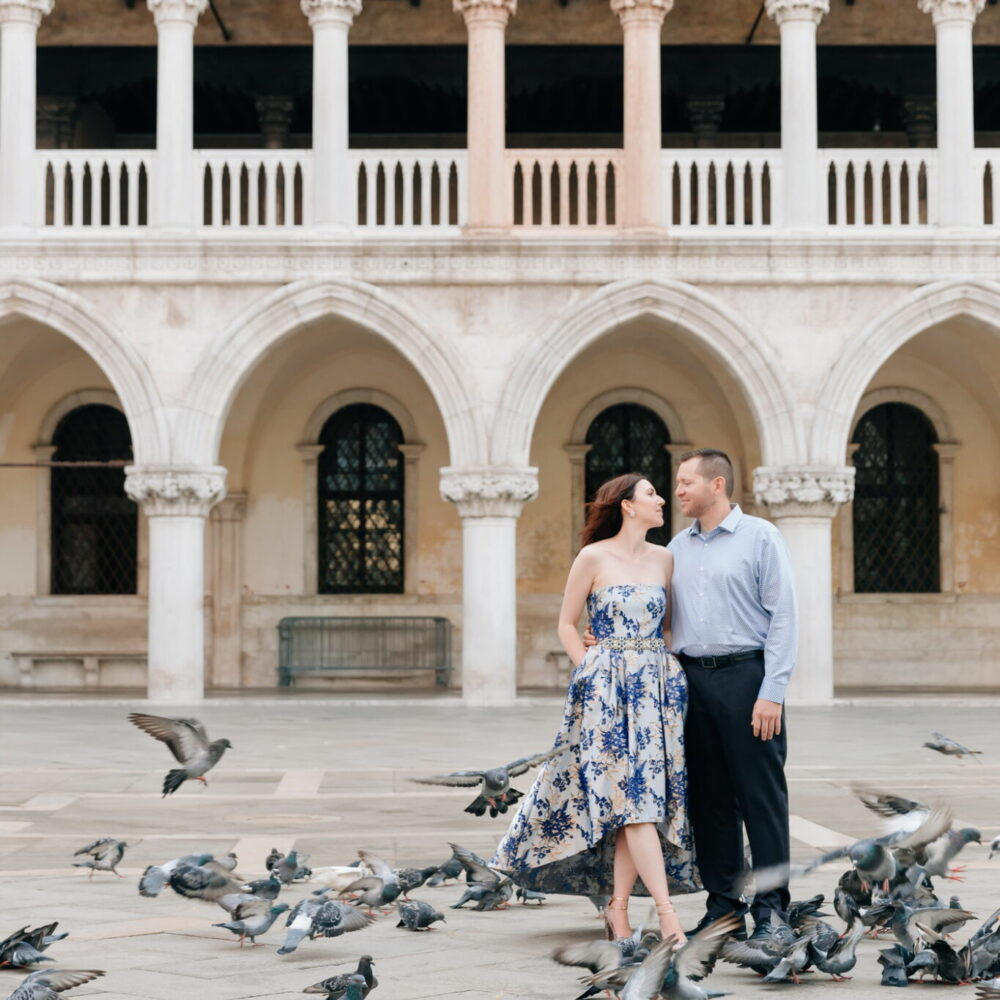 couple photoshoot in venice