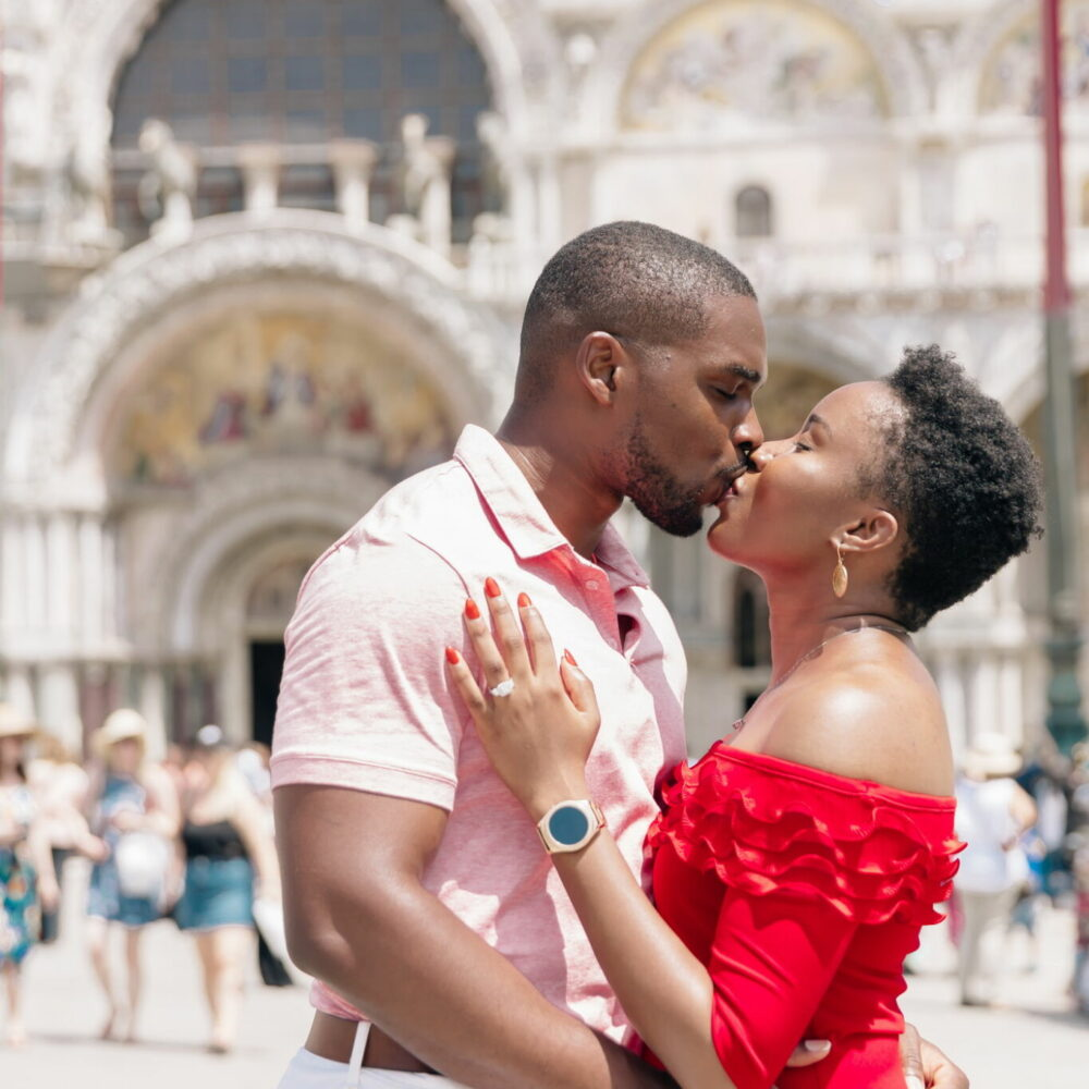 wedding proposal in venice italy photographer