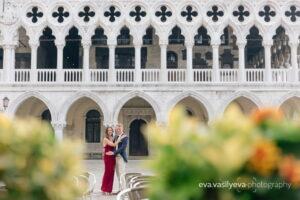 Wedding Proposal in Venice