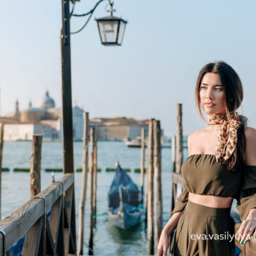 Photo shoot in the hotel Danieli (Venice, Italy) with actress Jacqueline MacInnes Wood - Eva Vasilyeva photography