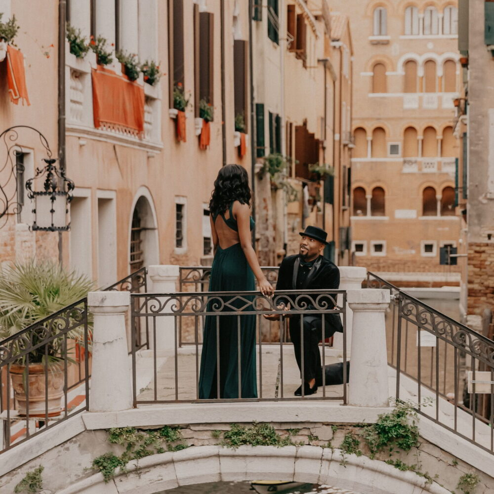 photographer in venice, marriage proposal
